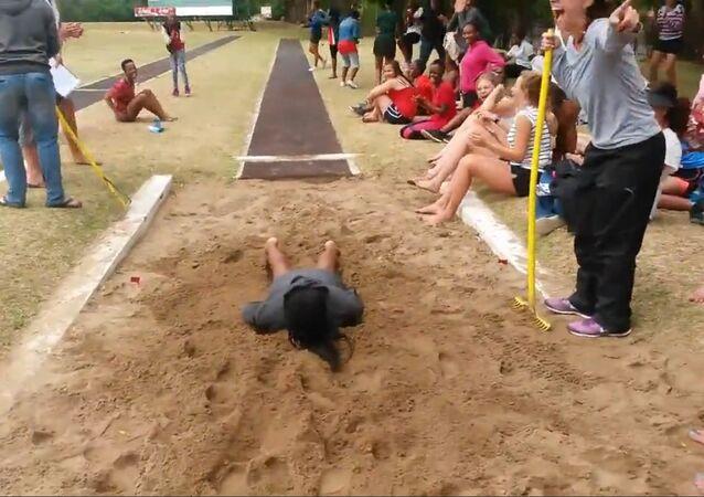 Ouch! Long Jump Fail