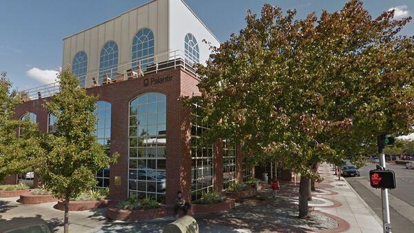 Software developer Palantir Technologies' headquarters in downtown Palo Alto, California - Sputnik International