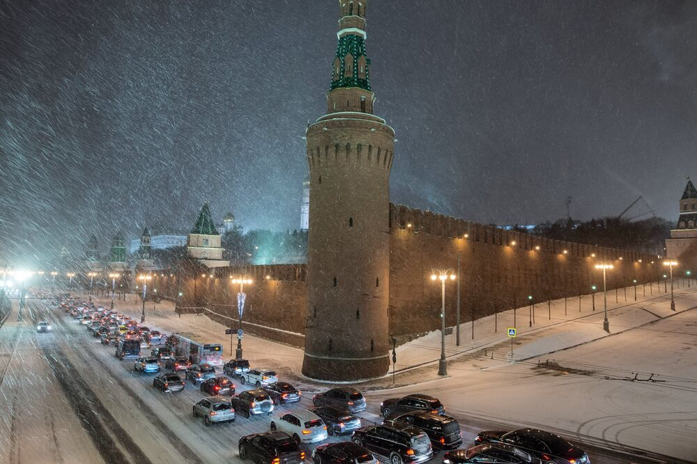 Winter Fairy Tale in Moscow