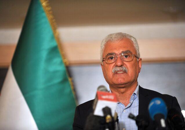 Syrian opposition representative George Sabra. (File)
