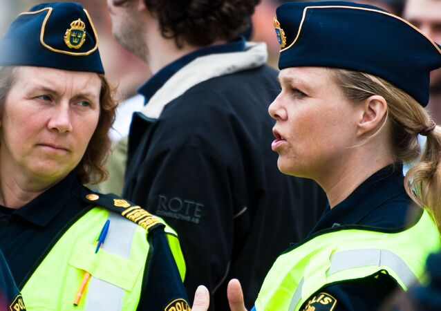 Swedish police officers