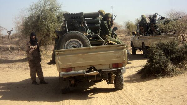 Al-qaeda militants - Sputnik International
