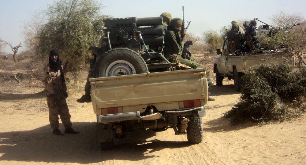 Al-Qaeda militants. File photo