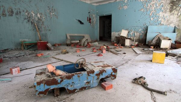 Pripyat, Chernobyl exclusion zone - Sputnik International