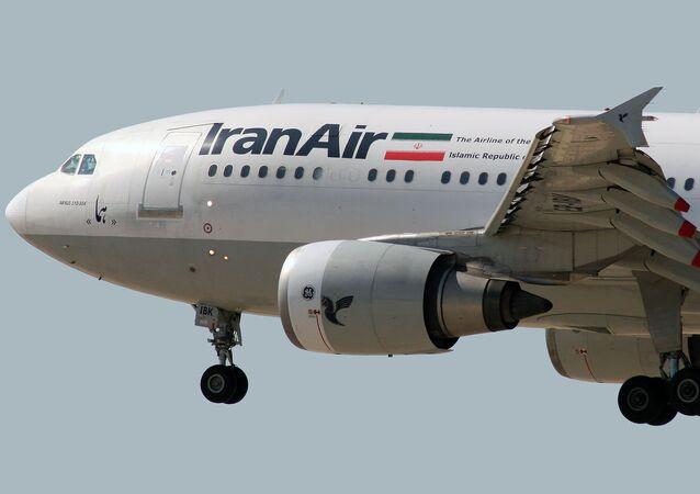Airbus A300B2-203 Iran Air EP-IBV