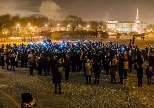 St. petersburg, russia in memory of  Alan Rickman