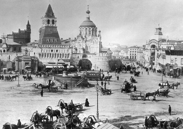 Heart of the Motherland: Rare Glimpse of 19th Century Moscow