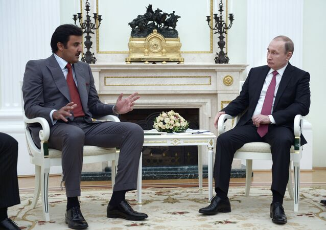 Russia plays a decisive role when it comes to achieving global stability, Emir of Qatar Tamim bin Hamad Al Thani said