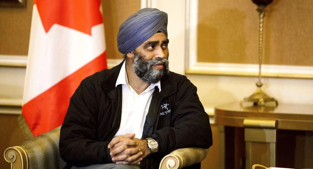 Harjit Sajjan, Canadian Defense Minister