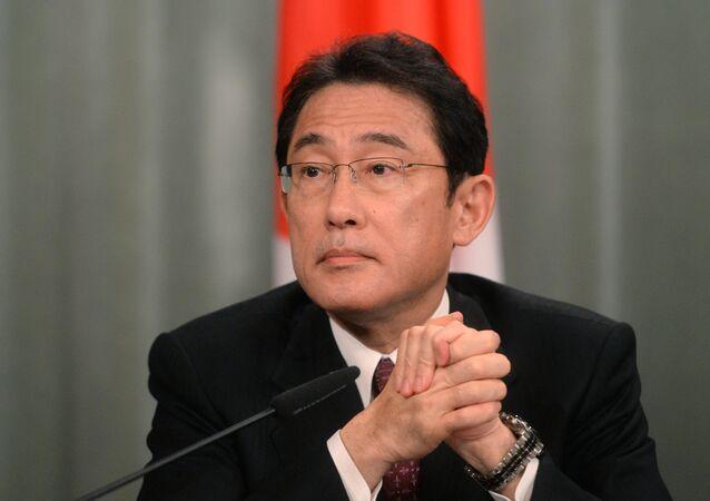 Japanese Foreign Minister Fumio Kishida. File photo