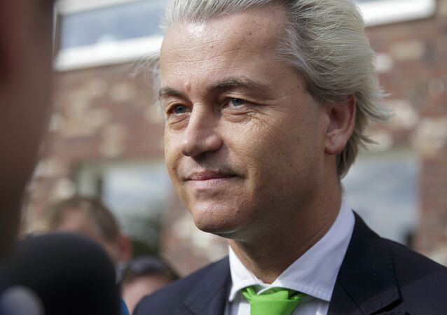 Geert Wilders, leader of the Dutch Party for Freedom