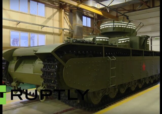 Famous five-turreted T-35 tank recreated by modern engineers
