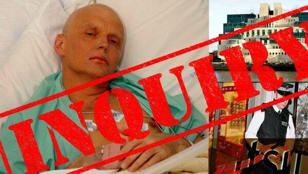 Litvinenko inquiry - Sputnik International