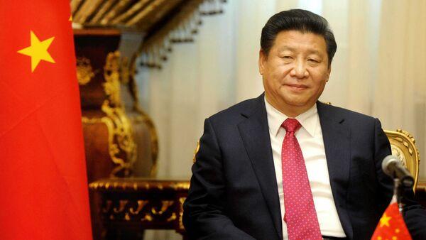 Chinese President Xi Jinping visits the parliament in Cairo, Egypt, Thursday, Jan. 21, 2016. - Sputnik International