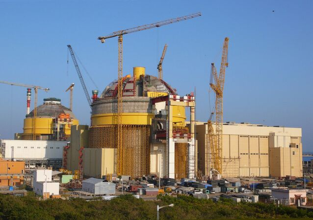 Kudankulam nuclear power plant, India.