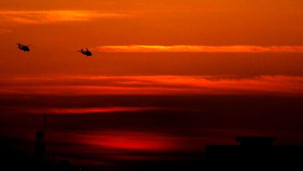 US Black hawk helicopters - Sputnik International
