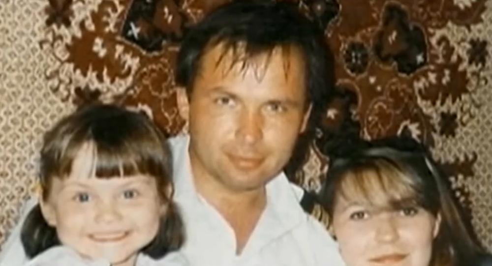 Konstantin Yaroshenko with his family