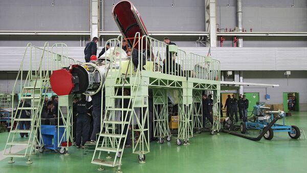 At the MiG Aircraft Corporation plant - Sputnik International