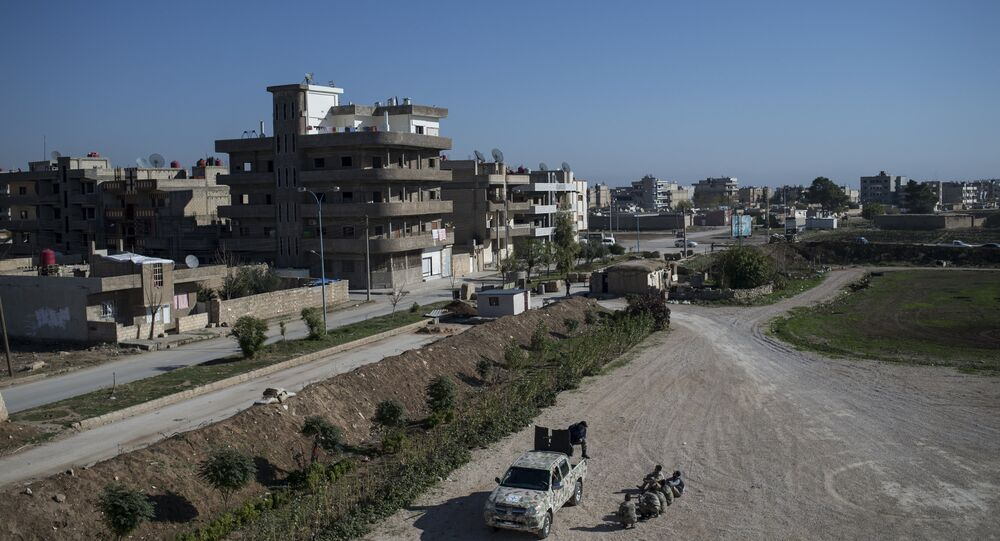 Al-Qamishli city in Al-Hasakah Governorate, northeastern Syria
