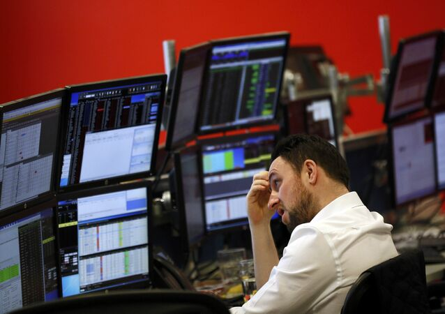 A market maker works on the trading floor at IG Index in London, Britain 14 January 2016