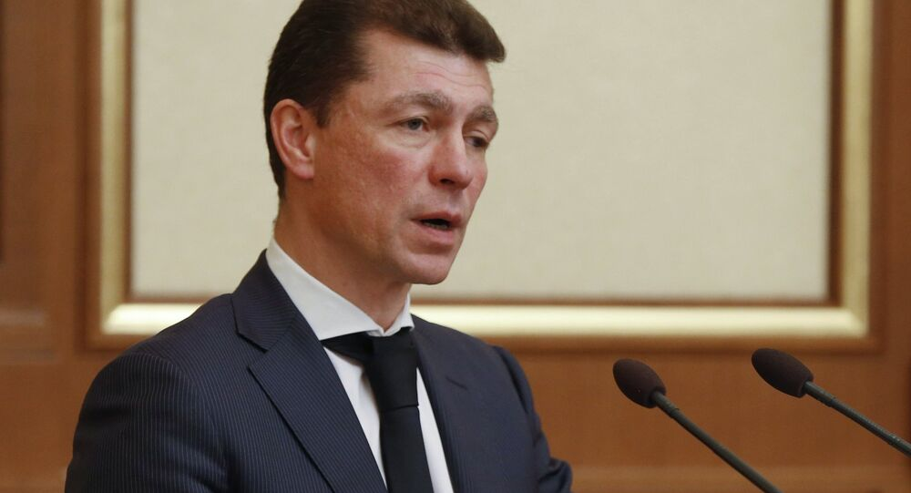 Russian Minister of Labour and Social Protection Maxim Topilin