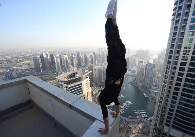 Handstand of Death