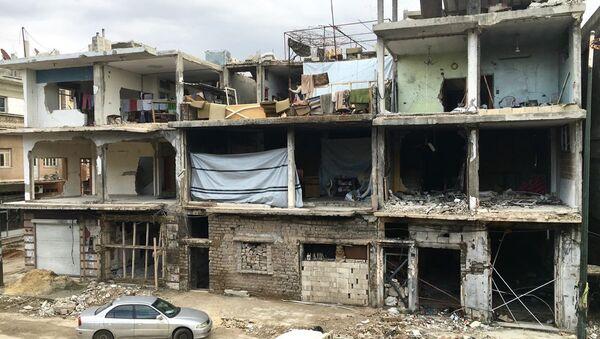 Destruction in Homs, Syria - Sputnik International