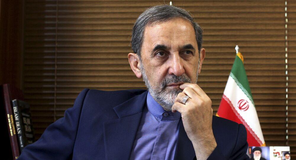 Iranian Supreme Leader's top adviser on international affairs, Ali Akbar Velayati