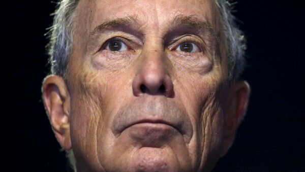 Former New York City Mayor Michael Bloomberg attends a meeting during the World Climate Change Conference 2015 at Le Bourget. - Sputnik International