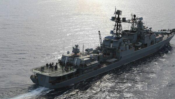 Large antisubmarine ship Vice-Admiral Kulakov - Sputnik International