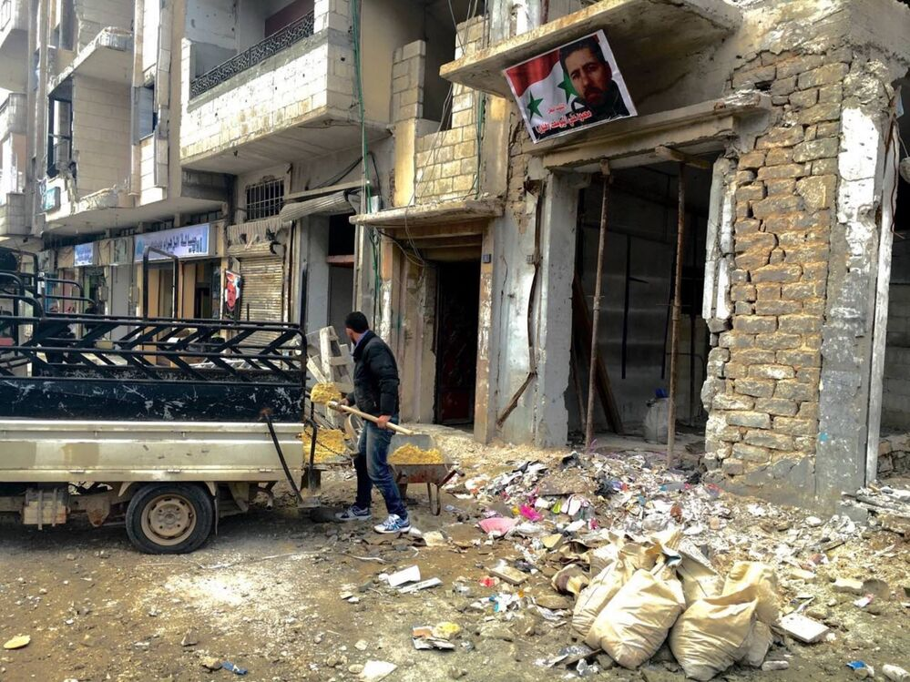 The Remains of War: Images of the Ravaged Syrian City of Homs