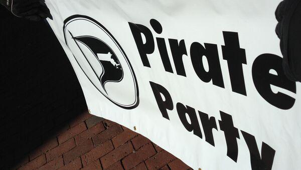 Pirate Party flag - Sputnik International