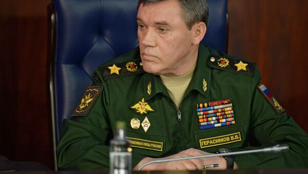 Chief of the General Staff of the Russian Armed Forces Valeriy Gerasimov - Sputnik International