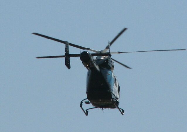 A helicopter by McDonnell Douglas Helicopters Inc, the company which also produced MD 600 model