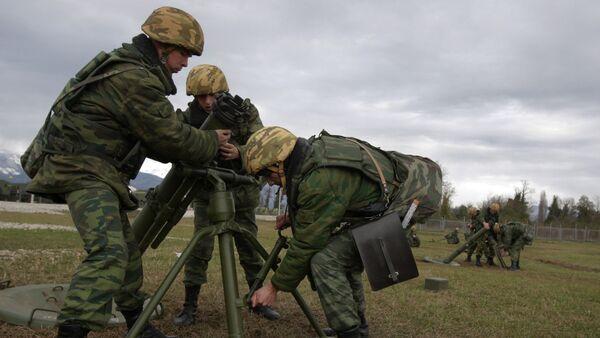7th Krasnodar military base in the town of Gudauta, Abkhazia. File photo - Sputnik International