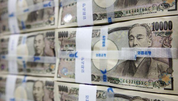 Japanese yen notes - Sputnik International