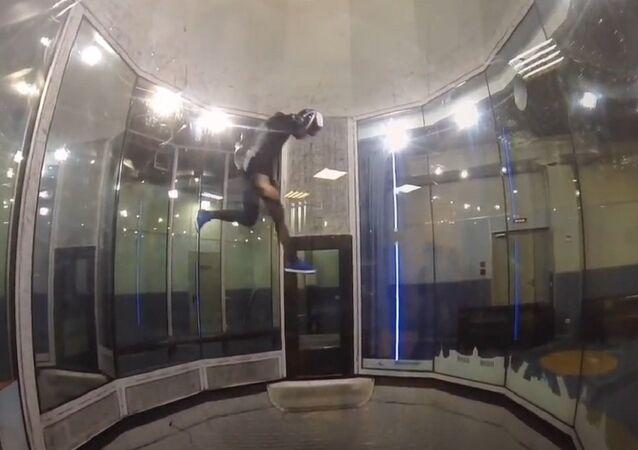Smoothwalking on air (Leo Volkov, training)