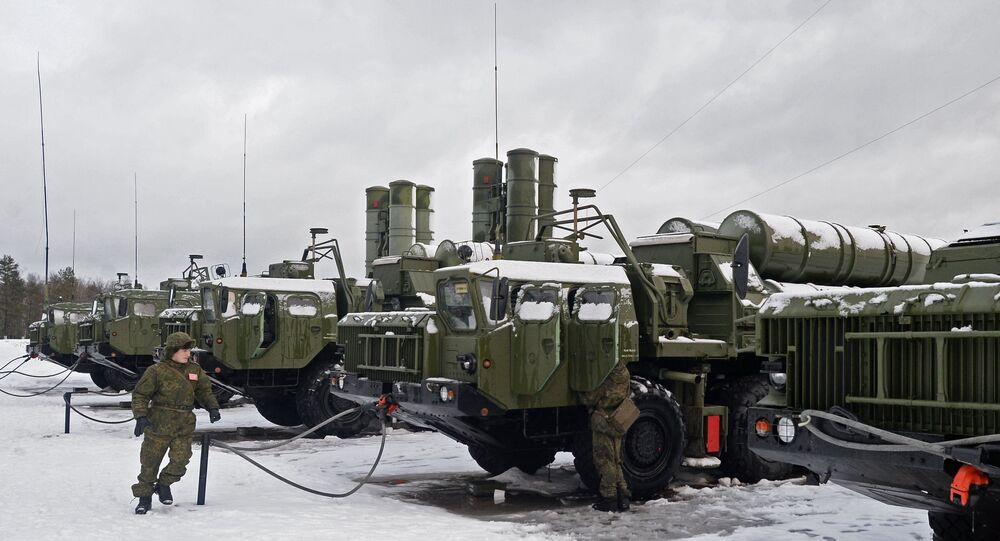 S-400 Triumf air defense systems enter service