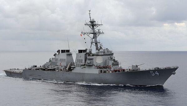 USS Curtis Wilbur - Sputnik International