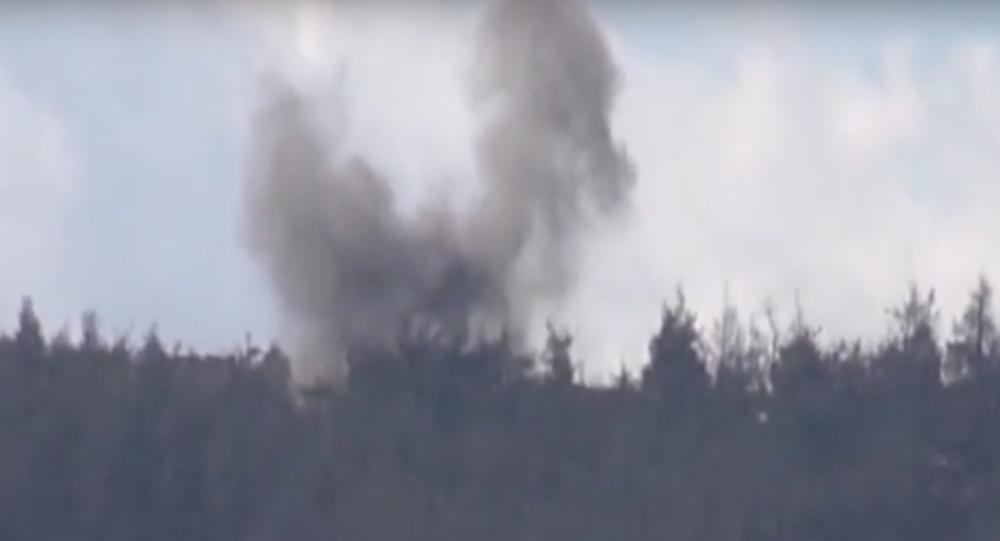 Turkey Shells Civilian Homes on Syrian Border, Russian MoD Has Video Proof