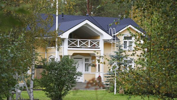 The country home of Finnish Prime Minister Juha Sipila is pictured in Kempele, 500 kilometres north of the Finnish capital - Sputnik International