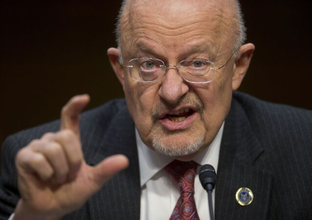 Director of National Intelligence James Clapper.