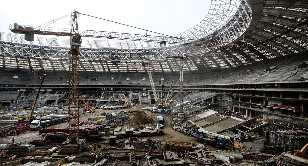 Luzhniki Sports Arena modernization