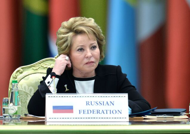 Valentina Matvienko, Speaker of the Federation Council of the Russian Federation