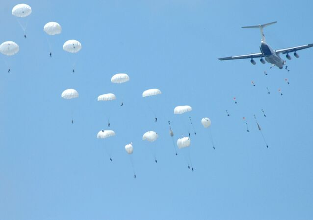 Russian paratroopers, file photo.