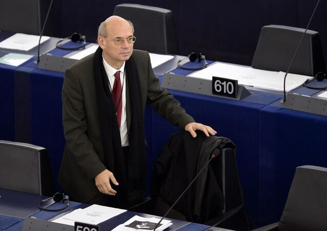 French European Parliament member Jean Luc Schaffhauser