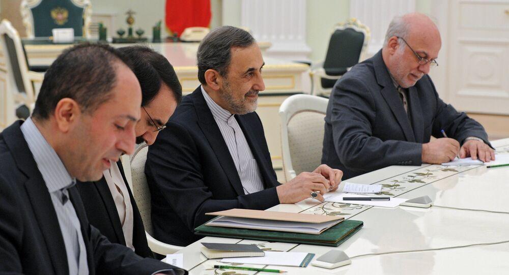 Vladimir Putin meets with Ali Akbar Velayati, Iranian president's special envoy and advisor for foreign affairs