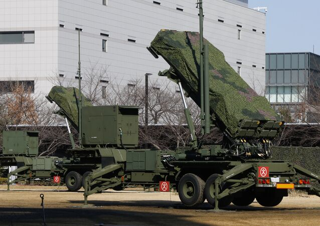 Japan Self-Defense Force's PAC-3 Patriot missile unit deployed for North Korea's rocket launch at the Defense Ministry in Tokyo, Sunday, Jan. 31, 2016