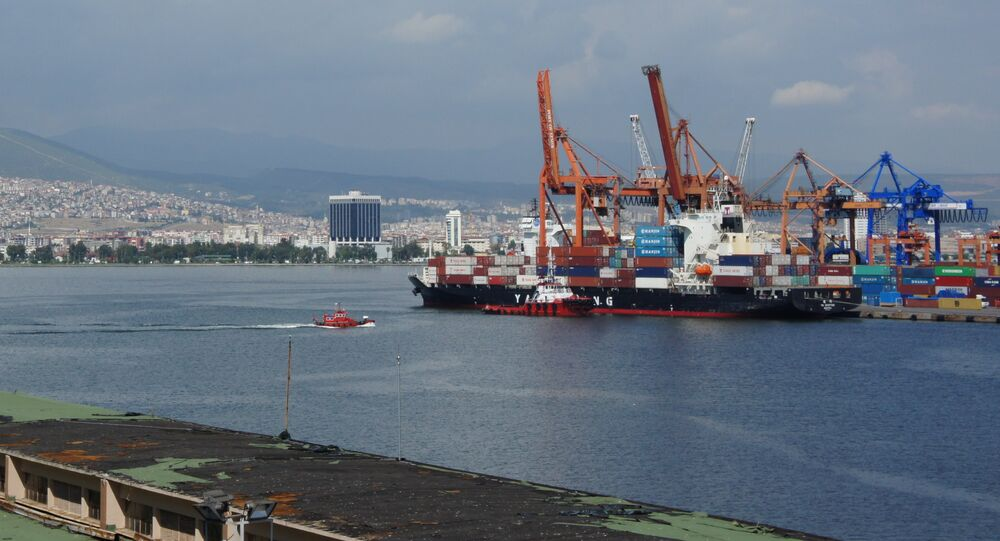 Port of Izmir, Turkey