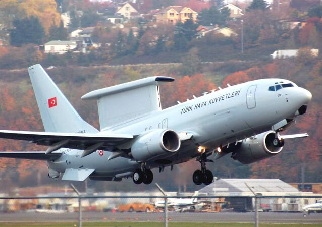 Boeing 737 AEW&C of the Turkish Air Force